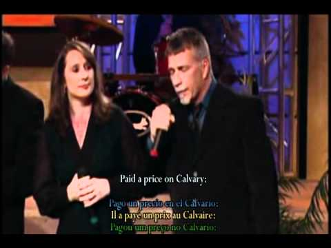 The Parish Family - Jesus is (lyrics, español, portugués, francés onscreen) + swedish trans