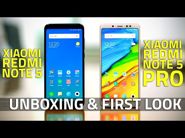 Xiaomi Redmi Note 5, Note 5 Pro Launched at Starting Price of Rs