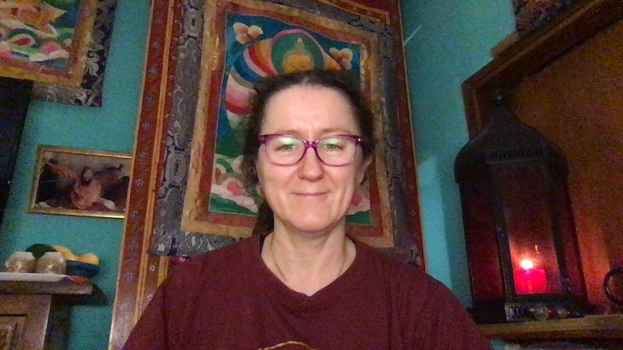 Lama Gangchen Tantric Self-Healing 2- Commentary by Lama Caroline - part 21  (EN)