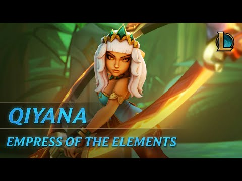 Qiyana: Empress of the Elements | Champion Trailer