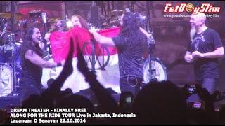 DREAM THEATER Kibarkan MERAH PUTIH - FINALLY FREE live in Jakarta 2014