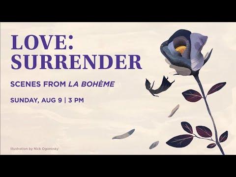 Musetta in La Boheme (fast forward to 33:20)
