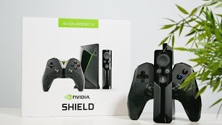 Nvidia Shield TV - распаковка и первое впечатление