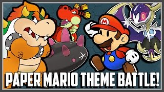 Pokemon Theme Battle - Paper Mario Ft. Original151