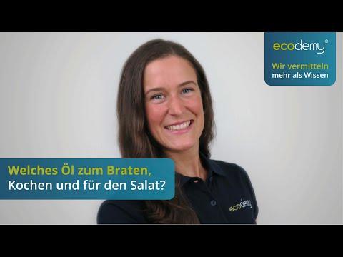 Kokosöl, Leinöl: Welches Öl zum Braten oder für den Salat?