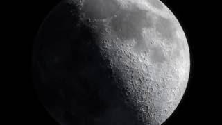 4K | Фазы Луны, как видно из космоса | The Moon
