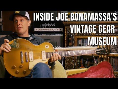 Welcome To Nerdville: Inside Joe Bonamassa's Museum and Vintage Guitar Collection  | Reverb.com