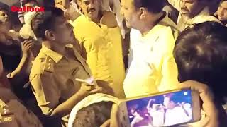 EVM Tampering Allegations: BSP Candidate Afzal Stages Sit-In Outside Strongroom In Ghazipur
