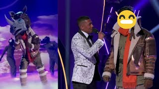 The Masked Singer - The Rhino Performances and Reveal 🦏