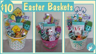 $10 EASTER BASKETS 2020 | Budget Friendly Easter Basket Ideas!!