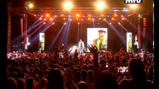 زياد برجي - مهرجان الأغنية الشرقية - ( حلوه و كذابي - طلعي لا برا )