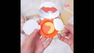 SistaCafe Channel : รีวิว Cathy Doll Duo Cushion Matte Blusher ทั้งสามสีสุดน่ารัก