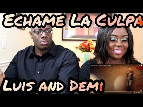 Luis Fonsi, Demi Lovato - Échame La Culpa   Couple Reacts