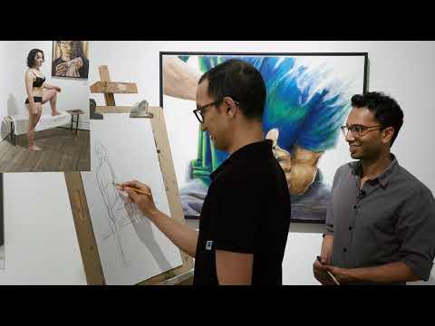 Life Drawing Class at Gaffa Gallery