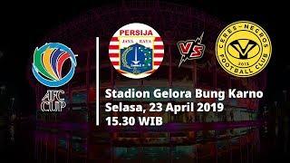 Sesaat Lagi! Live Streaming Piala AFC 2019, Persija Jakarta Vs Ceres Negros, Selasa (23/4)