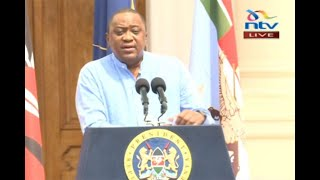 Uhuru unveils cash boost for economy - VIDEO