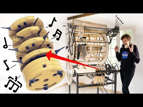 Testing the Mechanical Rhythm Machine - Marble Machine X #55 [29:35]