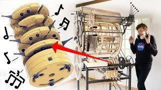 Testing the Mechanical Rhythm Machine - Marble Machine X #55