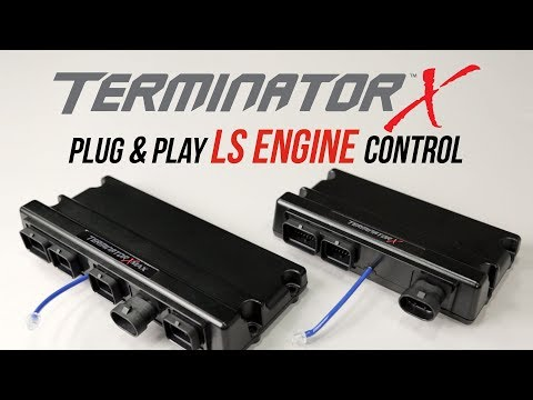 Terminator X EFI for LS Engines