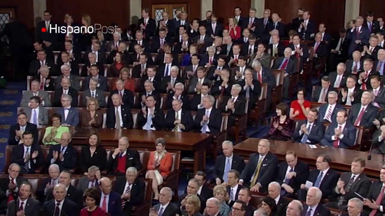 Trump defendió su agenda con un discurso conciliador ante el Congreso