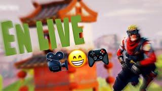 Live Fortnite FR (Je joue avec vous)