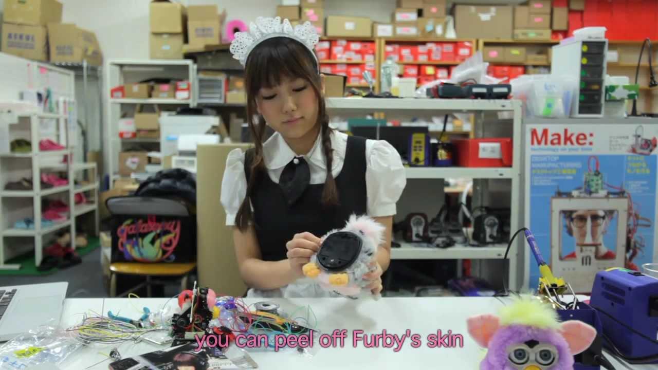 Japanese Maid Mods A Furby