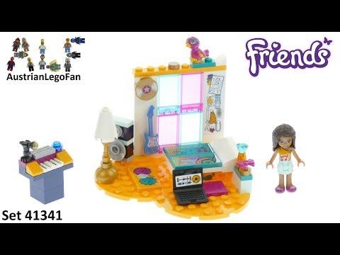 Vidéo LEGO Friends 41341 : La chambre d'Andréa