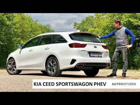 2020 Kia Ceed SW Plug-in Hybrid (PHEV): Elektrifizierter Kombi im Review, Test, Fahrbericht