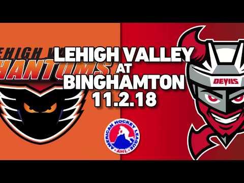 Phantoms vs. Devils | Nov. 2, 2018