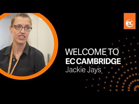 Welcome to EC Cambridge   Jackie Jays, Director of Studies