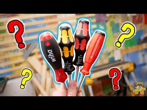 Wiha, Wera oder PB Swiss Tools - Was ist der BESTE Schraubendreher? | Mein Werkzeug