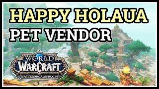 Where is Happy Holaua Pet Vendor WoW