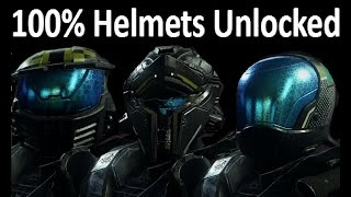 How To Unlock Helmets In Halo 5