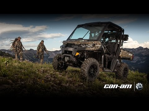 2017 Can-Am Defender XT CAB HD8 in Seiling, Oklahoma - Video 1