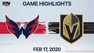 NHL Highlights   Capitals vs. Golden Knights – Feb. 17, 2020