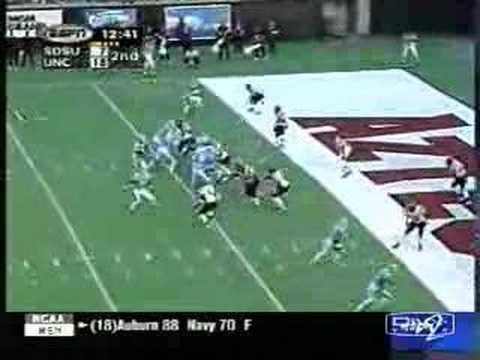 Video: 1998 Las Vegas Bowl, UNC vs SDSU