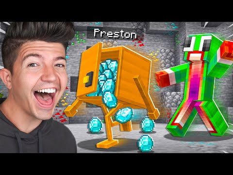 28 Ways to Steal Diamonds from Minecraft YouTubers! ft. MrBeast Gaming, SSundee and more