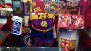 Магазин Барсы в Испании.