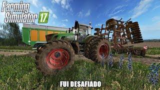 FUI DESAFIADO PRA UM CABO DE GUERRA FEAT CRAZY GAMER - Farming Simulator 17 | Mapa Baldeykino 1080p