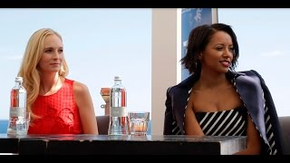 Катерина Грэхэм, Candice Accola & Kat Graham au 55e Festival de Télévision de Monte-Carlo