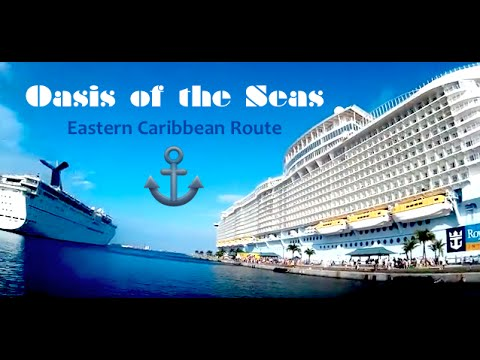 NEW! OASIS OF THE SEAS CRUISE 2016- EASTERN CARIBBEAN