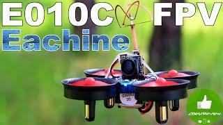 ✔ Микро FPV Квадрокоптер Eachine E010C. 800TVL, 40CH 25MW ($35.99). Banggood
