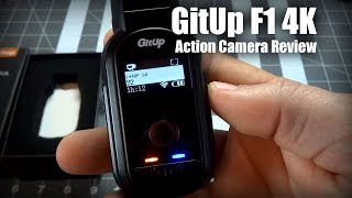GitUp F1 4K Action Camera Review
