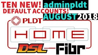10 New PLDT Default Admin Accounts *August 2018 update* (adminpldt not working) #LINTECHph DSL Fibr
