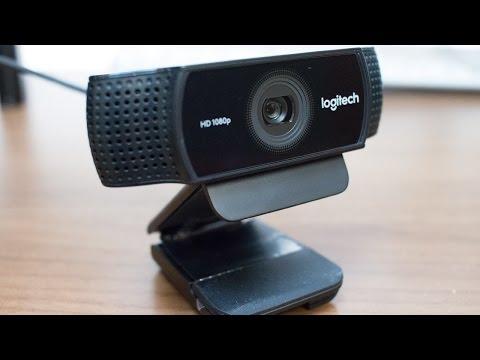 Logitech C922 Pro Webcam Review/Test