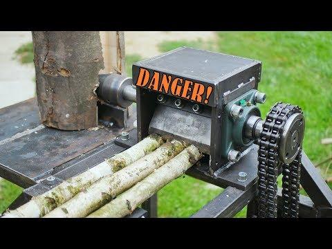 Wood chipper &amp Log splitter - BUILD