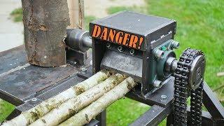 Wood chipper & Log splitter - BUILD
