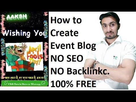 Event Blogging Script | All in One Script I NO SEO NO Backlinks I Only Whatsapp & FB Share