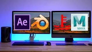 2013 Mac Pro vs iMac Pro - 3D Rendering & Thermals (Part 4)