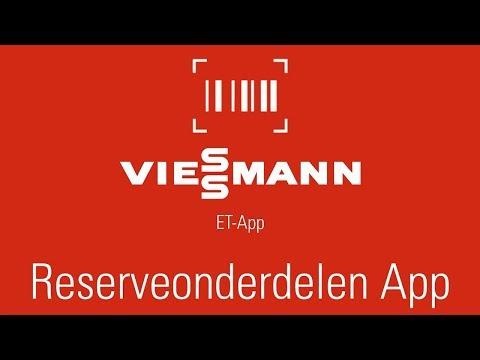 Viessmann reserveonderdelen-app